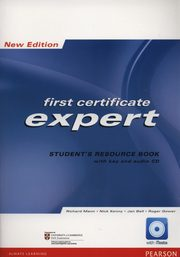 First Ccertificate Expert New Student's Resource Book +CD, Mann Richard, Kenny Nick, Bell Jan, Gower Roger