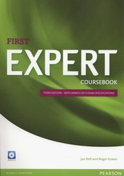First Expert Coursebook + CD, Bell Jan, Gower Roger