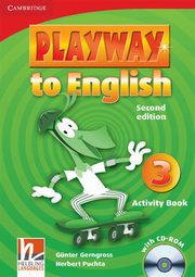 Playway to English 3 Activity Book with CD-ROM, Gerngross Gunter, Puchta Herbert
