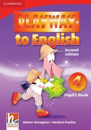Playway to English 4 Pupil's Book, Gerngross Gunter, Puchta Herbert