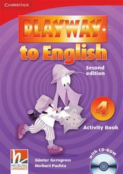 Playway to English 4 Activity Book + CD, Gerngross Gunter, Puchta Hubert
