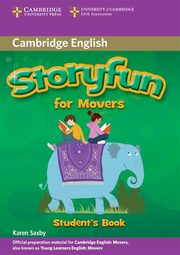 Storyfun for Movers Student's Book, Saxby Karen