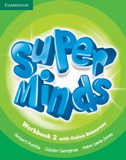 Super Minds 2 Workbook with Online Resources, Puchta Herbert, Gerngross Gunter, Lewis-Jones Peter