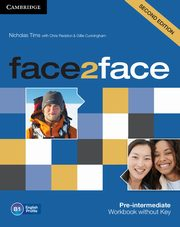face2face Pre-intermediate Workbook without Key, Tims Nicholas, Redston Chris