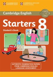 Cambridge English Young Learners 8 Starters Student's Book,
