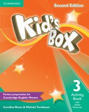 Kid's Box Second Edition 3 Activity Book with Online Resources, Nixon Caroline, Tomlinson Michael