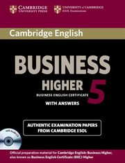Cambridge English Business 5 Higher with answers,
