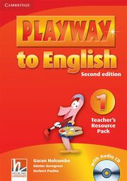 Playway to English 1 Teacher's Resource Pack + CD, Gerngross Günter, Holcombe Garan, Puchta Herbert