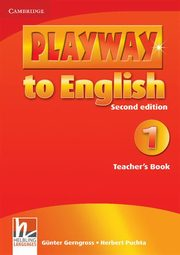 Playway to English 1 Teacher's Book, Gerngross Gunter, Puchta Herbert