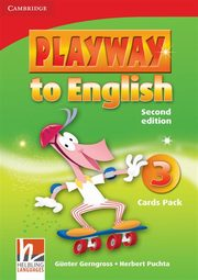 Playway to English 3 Flash Cards Pack, Gerngross Günter, Puchta Herbert