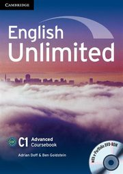 English Unlimited Advanced Coursebook + DVD, Doff Adrian, Goldstein Ben
