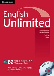 English Unlimited Upper Intermediate Teacher's pack + DVD, Tilbury Alex, Hendra Leslie Anne, Ackroyd Sarah