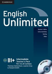 English Unlimited Intermediate Teacher's Pack + DVD, Clementson Theresa,  Gray Leanne, Smith Howard