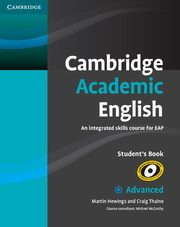 Cambridge Academic English C1 Advanced Student's Book, Hewings Martin, Thaine Craig
