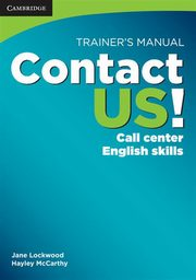Contact US! Trainer's Manual, Lockwood Jane, McCarthy Hayley