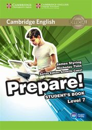 Cambridge English Prepare! 7 Student's Book, Styring James, Tims Nicholas