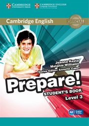 Cambridge English Prepare! 3 Student's Book, Kosta Joanna, Williams Melanie