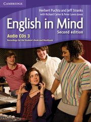 English in Mind 3 Audio 3CD, Puchta Herbert, Stranks Jeff
