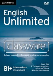 English Unlimited Intermediate Classware DVD, Rea David, Clementson Theresa