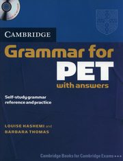 Cambridge Grammar for PET with answers + CD, Hashemi Louise, Thomas Barbara