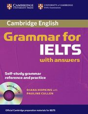 Cambridge Grammar for IELTS with answers + CD, Hopkins Diane, Cullen Pauline