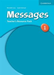Messages 1 Teacher's Resource Pack, Ackroyd Sarah, Levy Meredith
