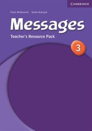 Messages 3 Teacher's Resource Pack, Ackroyd Sarah, McDonnel Peter
