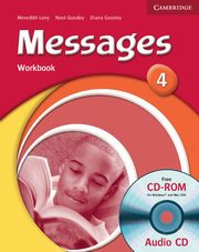 Messages 4 Workbook + CD, Goodey Diana, Goodey  Noel, Levy Meredith