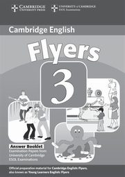 ksiazka tytuł: Cambridge Young Learners English Tests Flyers 3 Answer Booklet autor: