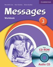 Messages 3 Workbook + CD, Levy Meredith, Goodey Noel, Goodey Diana