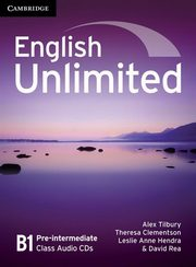 English Unlimited Pre-intermediate Class Audio 3CD, Tilbury Alex, Clementson Theresa, Hendra Leslie Anne, Rea David