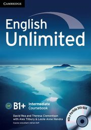 English Unlimited Intermediate Coursebook + e-Portfolio, Rea David, Clementson Theresa, Tilbury Alex, Hendra Leslie Anne