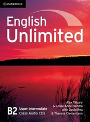 English Unlimited Upper Intermediate Class Audio 3CD, Tilbury Alex, Hendra Leslie Anne, Rea David, Clementson Theresa