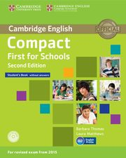 Compact First for Schools Student's Book + CD, Thomas Barbara, Matthews Laura