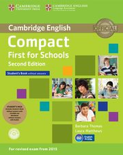 Compact First for Schools Student's Pack, Thomas Barbara, Matthews Laura