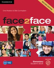 face2face Elementary Student's Book + DVD, Redston Chris, Cunningham Gillie