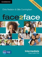face2face Intermediate Class Audio 3CD, Redston Chris, Cunningham Gillie