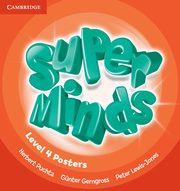 Super Minds Level 4 Posters, Puchta Herbert, Gerngross Günter