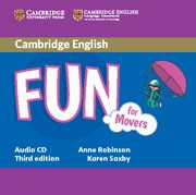 Fun for Movers Audio CD, Robinson Anne, Saxby Karen