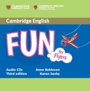 Fun for Flyers Audio 2CD, Robinson Anne, Saxby Karen