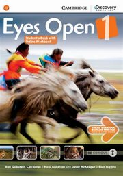 Eyes Open 1 Student's Book with Online Workbook, Goldstein Ben, Jones Ceri, Anderson Vicki
