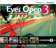 Eyes Open 3 Class Audio 3CD, Goldstein Ben, Jones Ceri, Anderson Vicki