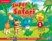 Super Safari 1 Pupil's Book + DVD, Puchta Herbert, Gerngross Günter, Lewis-Jones Peter