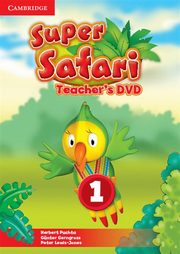 Super Safari 1 Teacher's DVD, Puchta Herbert, Gerngross Günter, Lewis-Jones Peter