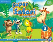 Super Safari 3 Pupil's Book + DVD, Puchta Herbert, Gerngross Günter, Lewis-Jones Peter