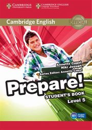 Cambridge English Prepare! 5 Student's Book, Capel Annette, Joseph Niki