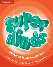 Super Minds 4 Workbook with Online Resources, Puchta Herbert, Gerngross Gunter, Lewis-Jones Peter