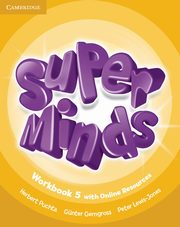 Super Minds 5 Workbook with Online Resources, Puchta Herbert, Gerngross Günter, Lewis-Jones Peter
