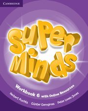 Super Minds 6 Workbook with Online Resources, Puchta Herbert, Gerngross Gunter, Lewis-Jones Peter