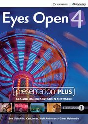 Eyes Open 4 Presentation Plus DVD, Goldstein Ben, Jones Ceri, Anderson Vicki